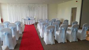 Leigh Cricket Club's wedding chapel,