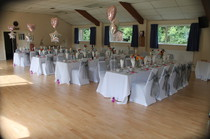 Wedding Venues for hire at Whitley Village Hall, Warrington, Cheshire.